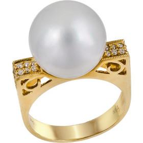 Δαχτυλίδι με μαργαριτάρι South Sea 031123 031123 Χρυσός 18 Καράτια efe3617b632