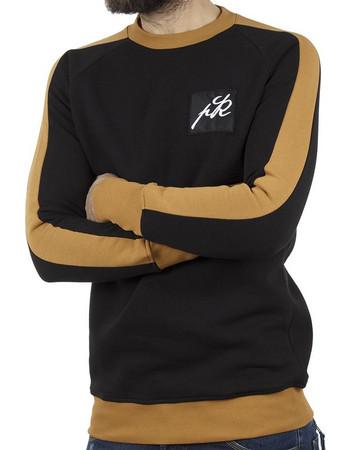 Ανδρικό Μπλούζα Φούτερ PONTEROSSO 18-2055 OCHRA Μαύρο. Ponte Rosso 1e65826a334