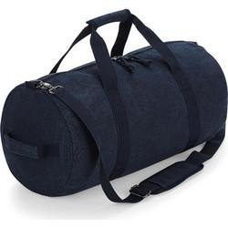 a37330322d Σακ Βουαγιάζ Vintage Canvas Barrel Bag Bag Base BG655 - Vintage Oxford Navy