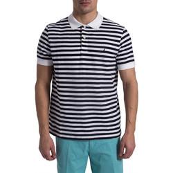 383b1283373d Ανδρική ριγέ μπλούζα polo Nautica - K81003 - Μπλε Σκούρο