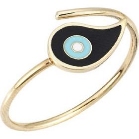 Δαχτυλίδι Μάτι Χρυσό 9Κ με Σμάλτο 6339a89e3b8