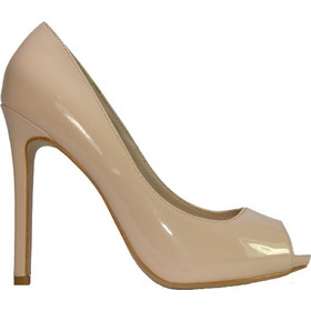 ILoveMyShoes 99806 Γυναικείες Γόβες Peep-toe Λουστρίνι Μπεζ ILoveMyShoes  99806 beige 5a682a4b5a5