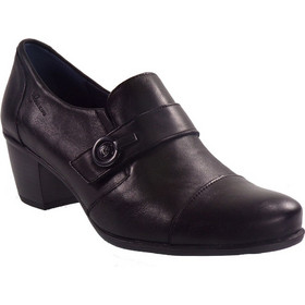 be4888c9113 Dorking Γυναικεία Παπούτσια BRΙSPA D7572-SUΝΒ Μαύρο Δέρμα 47342
