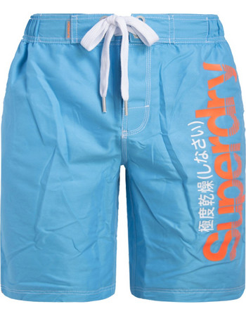SUPERDRY ΑΝΔΡΙΚΟ BOARDSHORT ΜΑΓΙΩ M30021POF6-VZA (VZA HAWAII BLUE) 59e94577684