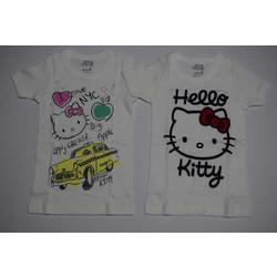 Φανέλα με κοντό μανίκι για κορίτσια Hello Kitty 2 τεμαχίων bf26afdd6d7