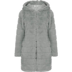 f43436a60e4 Παλτό από οικολογική-συνθετική γούνα WL1519.7039+1