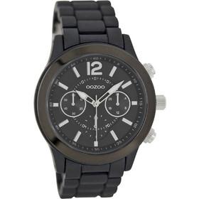 Oozoo Timepieces Black Metal Bracelet Black Dial C6904 4c4ec29699f