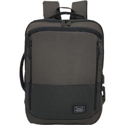 Επαγγελματική Τσάντα Πλάτης Ώμου για Laptop 15.6 Forecast A-25001. Γκρι c1f85b36e62