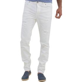 708d77a3399a Ανδρικό λευκό τζιν παντελόνι Trial 19NarcisoB