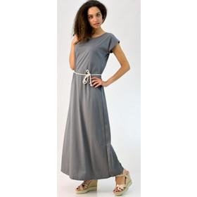 0a0137a8a65f γκρι μακρυ φορεμα - Φορέματα