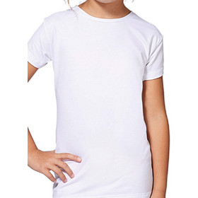 39d1457e85f Jadea Girl κοντομάνικη μπλούζα modal-βαμβακερό ύφασμα 284 Άσπρο
