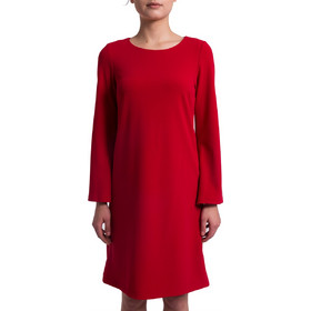 dae2cf7d542a Γυναικείο φόρεμα με μανίκι καμπάνα Esprit - 028EO1E009 - Κόκκινο