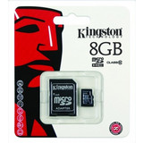 Kingston 8GB microSDHC Class 10 + Adapter