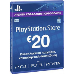 Sony PlayStation Network 20€ Points Card