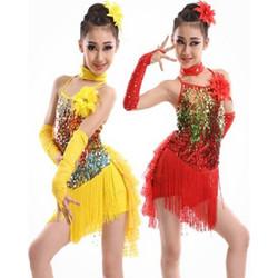 e3cdd4c71a7 Παιδική Latin Στολή χορού L07 7707