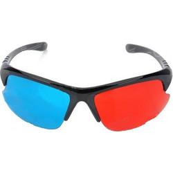 Στυλάτα 3D Γυαλιά με Πλαστικό Σκελετό και Κόκκινο Μπλε Τζαμάκι (OEM) (BULK cdc0cff0712