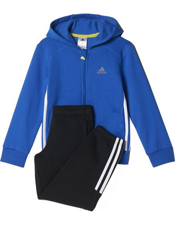 c59a11f817b ΦΟΡΜΑ ADIDAS PERFORMANCE ESSENTIALS HOJO TRACK SUIT ΜΠΛΕ/ΜΑΥΡΗ AY8009