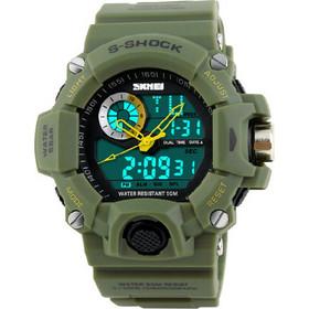 Ανδρικό ρολόι με στρατιωτικό στυλ - SKMEI 1053 02626296813