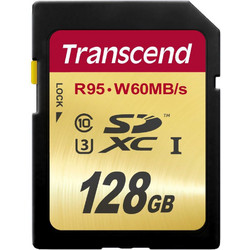 Transcend 128GB SDXC UHS-I U3 Ultimate Class 10