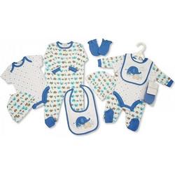 fdaaf03d307 Αγγλικό Σετ Δώρου 100% cotton, 5 τεμαχίων - της Nursery time GP0761 cielo  nursery