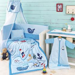 Σετ Κούνιας 6τμχ Palamaiki Little Ones Whale 41493850205