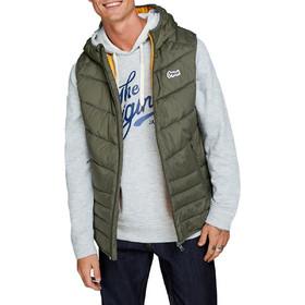 d969af7c3742 Ανδρικά Μπουφάν Jack   Jones Αμάνικο Με Κουκούλα Mens Jackets   Coats Χακί  12138351