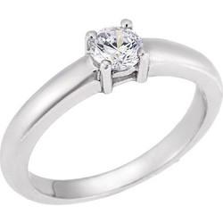 Δαχτυλίδι Μονόπετρο Λευκό 9Κ με Ζιργκόν 2937b867940