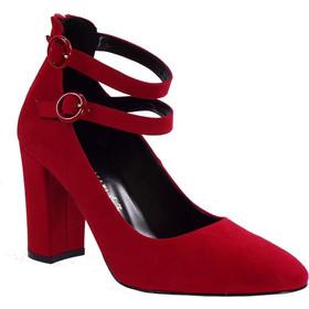 8e1ad86a13c Envie Shoes Γυναικείες Παπούτσια Γόβες E02-08502 Κόκκινο Καστόρι envie  shoes e02-08502 kokkino