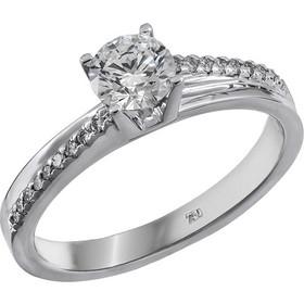 Λευκόχρυσο δαχτυλίδι 18Κ με διαμάντια 011590 011590 Χρυσός 18 Καράτια 856be1e9f2a