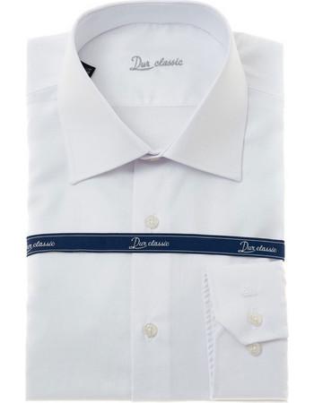 Dur ανδρικό πουκάμισο Oxford - 10000046 - Λευκό 7985df8d379