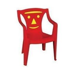 dd193fb90bc Καρέκλα παιδική πλαστική BIMBO / Κόκκινο