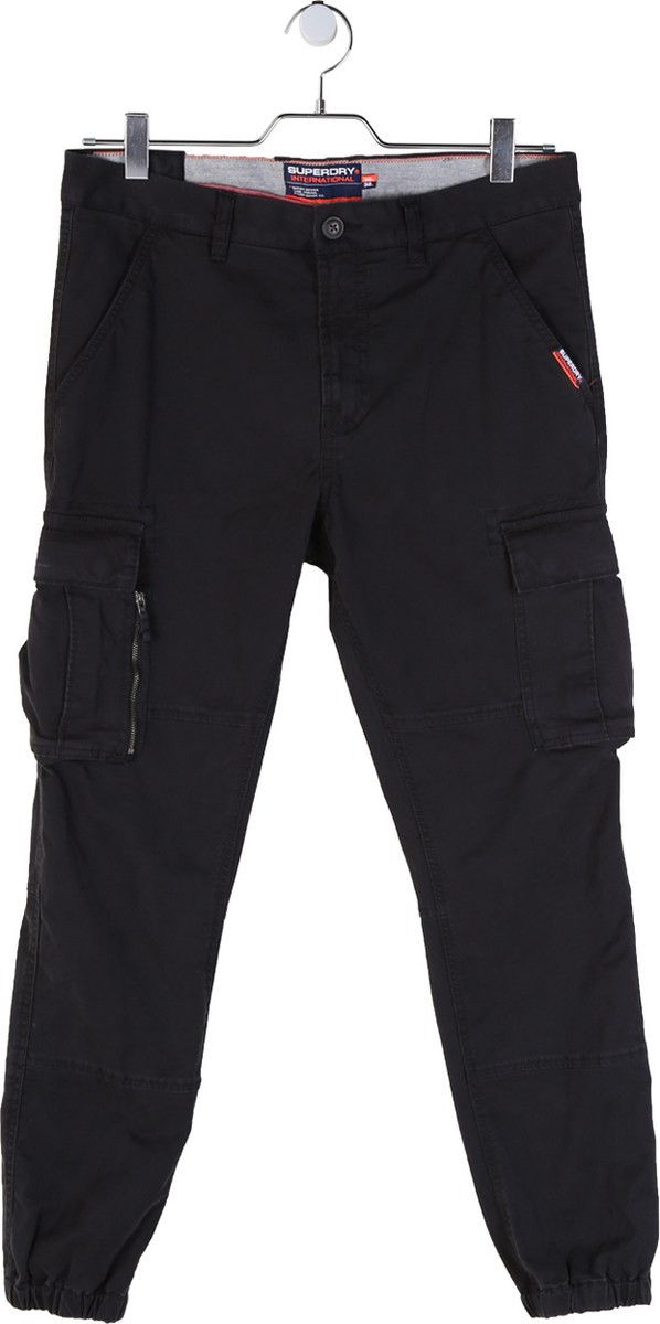 Superdry Men/'s Cargo Trousers Parachute Grey M70010gt P2f Grey