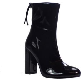 Katia Shoes Γυναικεία Mποτάκια 133 4942 Μαύρα Λουστρίνι 401158 066251f2bee