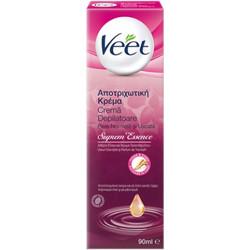 Veet Supreme Essence Αποτριχωτική Κρέμα με άρωμα τριαντάφυλλου   αιθέρια  έλαια.90ml 3f12548c6ee