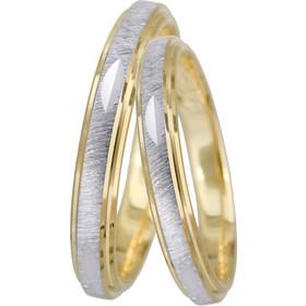 Βέρες γάμου Κ14 022548 022548 Χρυσός 14 Καράτια μεμονωμένο τεμάχιο ac3c9e15590