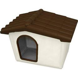 3fd0eed62593 ARTPLAST ITALY Σπίτι Σκύλου 57x40x42.5cm SMALL 3kg Μπεζ Καφέ