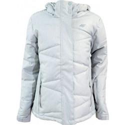 2502583cd11 Ski jacket 4f Junior J4Z17-JKUDN401 gray melange