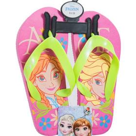 26cf1d0acaa Παιδικές Σαγιονάρες Έλσα Και Άννα Frozen Ροζ-Πράσινο Χρώμα Disney