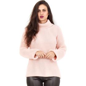 2ce2fb6c78c9 Ρόζ Πλεκτή Μπλούζα Ζιβάγκο Ρόζ Silia D