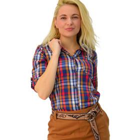 6a758457bda7 πουκαμισο καρο κοκκινο - Γυναικεία Πουκάμισα