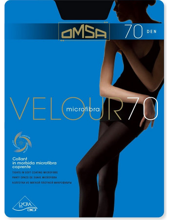 Καλσόν Omsa Velour 70 den (248-249) Μαύρο 8308583654309 f21d8949c15