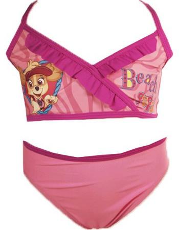 Παιδικό Μαγιό Μπικίνι Σκάι Paw Patrol Μοβ-Ροζ Χρώμα Nickelodeon 6df92177e23