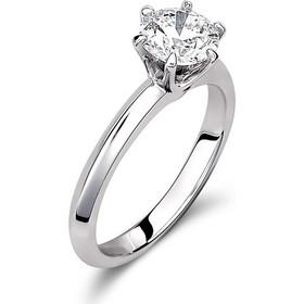 Μονόπετρο δαχτυλίδι από λευκό χρυσό 18 καρατίων με διαμάντι 1ct. KR20.1CT 9675c7847e0
