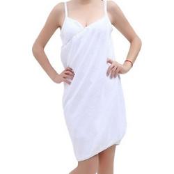Φόρεμα Πετσέτα Παραλίας για Γρήγορο Στέγνωμα Χρώματος Λευκό 140 x 70 cm  beach towel WHITE 84bd26ca4d1