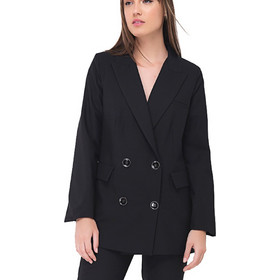7872003b509b 4Tailors The   This Means Business  Blazer (FW18-099 BLACK)