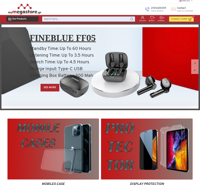 Mymegastore screenshot