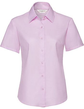 3871eb5db9c0 Γυναικείο πουκάμισο Oxford Russell R-933F-0 - Classic Pink