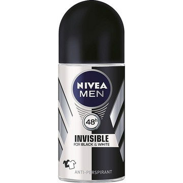 Nivea Men Invisible For Black & White 48h Roll-On 50ml