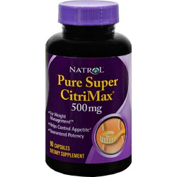 Natrol Pure Super Citrimax 500mg 90s