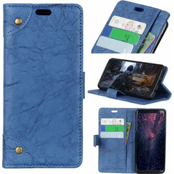 Copper Buckle Retro Crazy Horse Texture Horizontal Flip Leather Case for  Huawei Honor View 20 2cfdb1a34c8